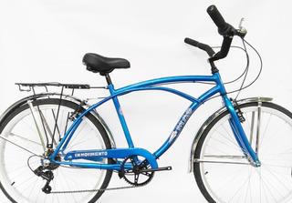 Bicicleta Mao Playera Full 6 Velocidades Hombre Rodado 26