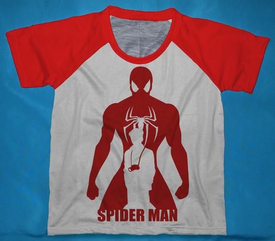 Camisetas Spider-man Homem Aranha Infantis - Qad