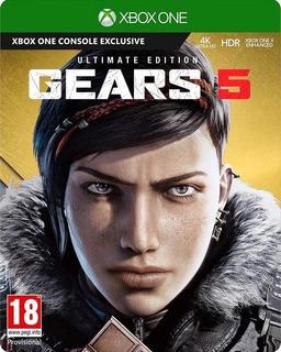 Gears Of Wars 5 Deluxe Ed + Juego Xbox One Online Y Offline