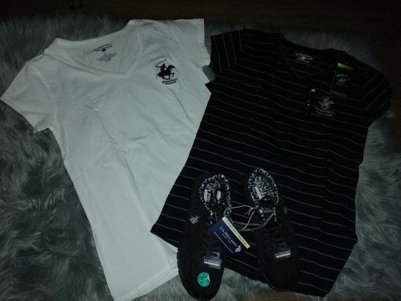Camiseta 16,00 Usd, Pantalón 23,00 Usd Y Zapatos Us Polo 40