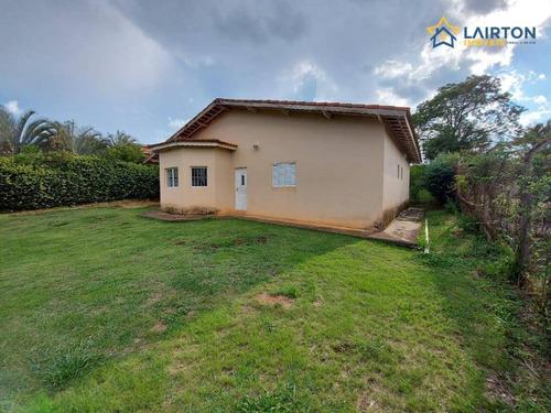 Chácara Com 3 Dormitórios À Venda, 1000 M² Por R$ 450.000 - Rio Abaixo - Atibaia/sp - Ch1422