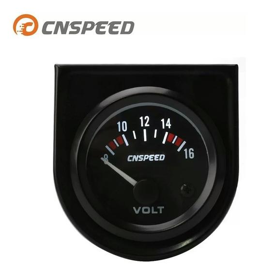 Vultimetro Medidor De Tensão Bateria Carro 52mm