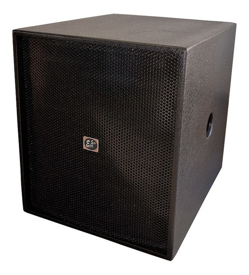 Caixa Acústica Profissional Eco Som Sub Grave Br818 Passiva