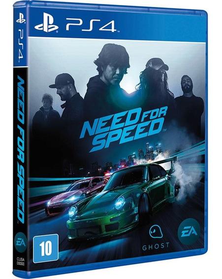Jogo Need For Speed Ps4 Midia Fisica Cd Original Br Corrida