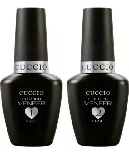 Passo 1 Prep  Cuccio+passo 2 Fuse Cuccio Unhas