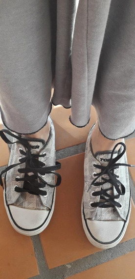 Zapatillas Lona Topper Original Mujer Urbanas 36