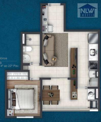Apartamento Com 1 Dormitório À Venda, 39 M² Por R$ 200.000,00 - Vila Centenário - São Paulo/sp - Ap3338