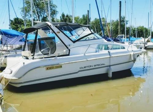 Embarcación Barco Custom Especial 29 Pies 100hs Uso T/bienes