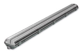 Plafon Estanco Doble 0,60mts Ip65 + 2 Tubos Led 9w Candil