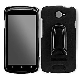 Estuche Body Glove Snap-on & Holster Para Htc One S Negro Cl