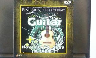Yisd High School Honor Guitar 11-05-09 Dvd Seminuevo 2009