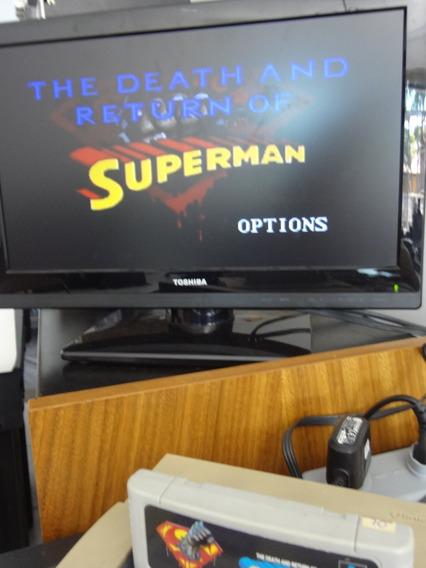 Fita Super Nintendo - The Death And Return Of Superman
