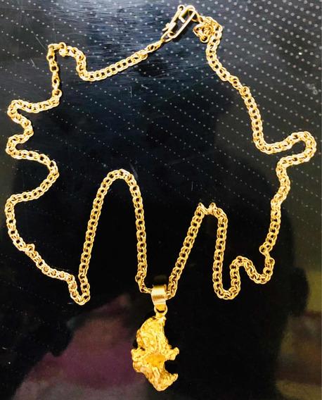Cordão De Ouro 24k