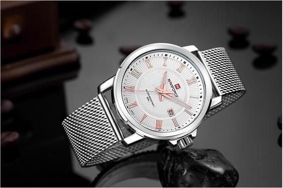 Relógio Naviforce Nf9052m Feminino Original Luxo
