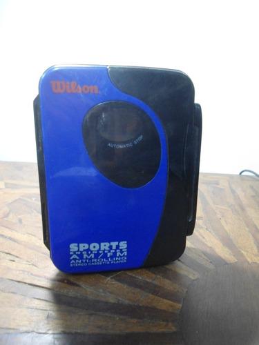 Walkman Wilson Sports Wg85wb - Para Reparo Ou Peças