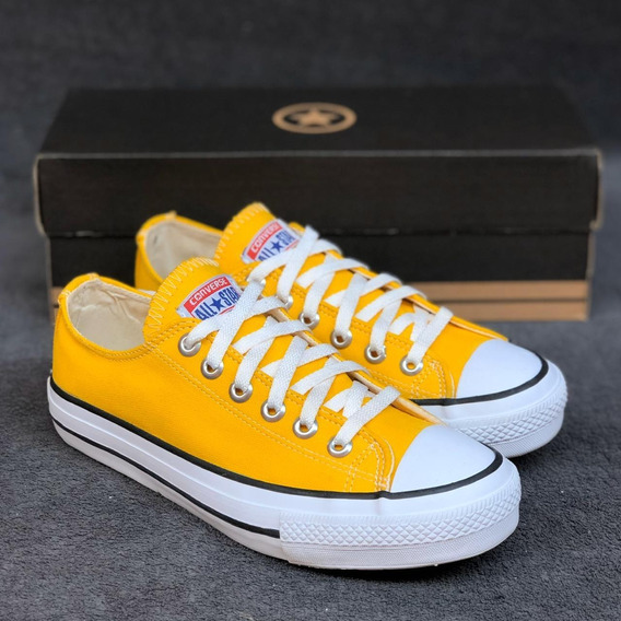 Converse All Star Amarelo