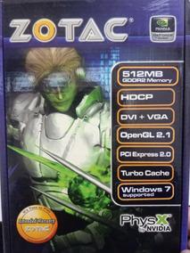 Placa Vídeo Nvidia Geforce 8400gs 512 Ddr2 64 Bit