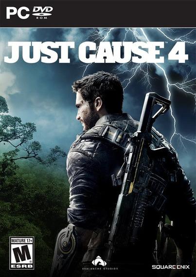 Just Cause 4 + 2 Jogo ( Mídia Física ) Pc - Dvd