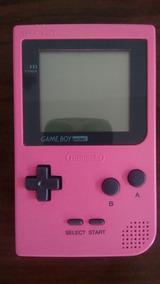 Game Boy Pocket Rosa (raro)