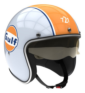 Casco para moto abierto Hawk 721 gulf talle M