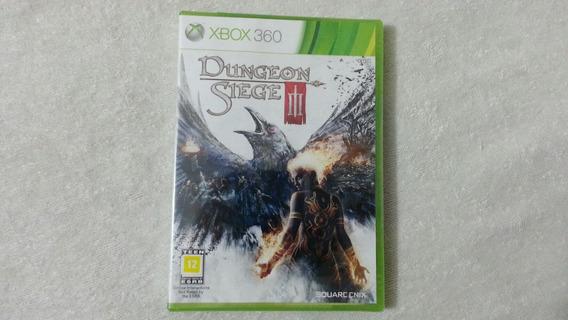 Dungeon Siege 3 Americano Original Para Xbox 360 - Lacrado