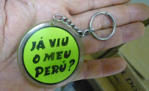 Chaveiro  Antigo  Humor  -   Já Viu Meu Peru ?