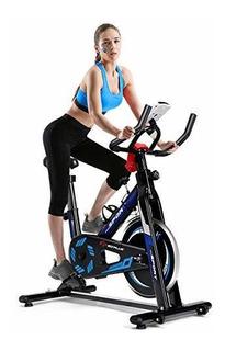 Bicicleta Estatica Spinning De Resistencia Ajustable Goplus