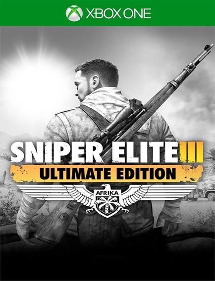 Sniper Elite 3 Ultimate Xbox One - 25 Dígitos (envio Já)