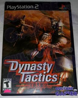 Dynasty Tactics Completo Ps2 En Culture Gamer