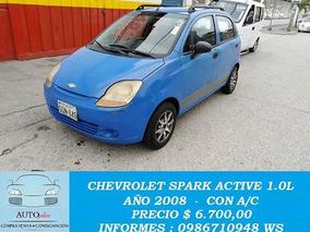 Chevrolet Spark 1.0l A/c Año 2008 Muy Buen Estado