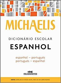 Livro Michaelis Dicionario Escolar Espanhol