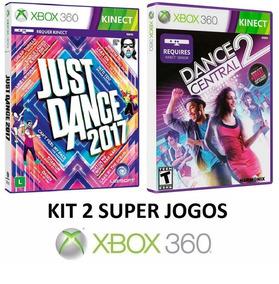 Dance Central 2 + Just Dance 2017 - Midia Fisica - Xbox 360