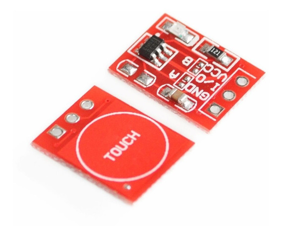 Chave Toque Sensor Touch Capacitivo Ttp223 Ttp223b Arduino