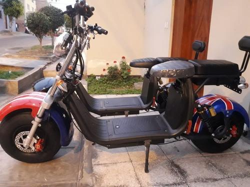 Imagen 1 de 8 de Moto Electrica Citycoco Harley Scooter Motor 2000w 50km/h
