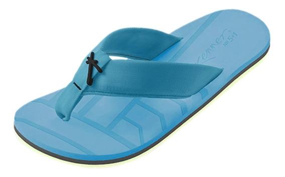 Sandália Masculina Kenner Nk5.1 Chrome Azul