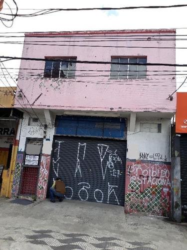 Alugo Salão Comercial Térreo E Salão No Piso Superior, Limão, Total 200m2 - Sl0132