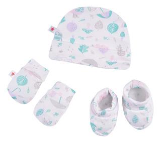 Set 3 Piezas Baby Creysi Rosa U00532