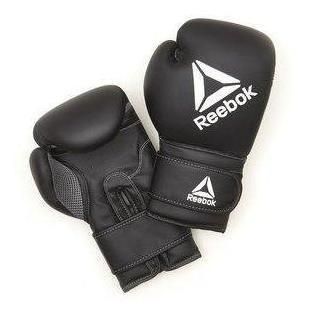 Guantes De Boxeo Reebok Rscb-12010bk-12 Onz