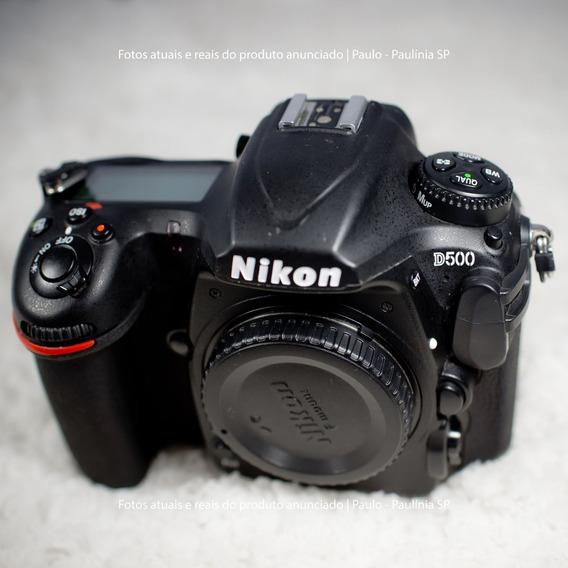 Câmera Nikon D500 (corpo) (seminova)