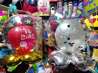 Burbujas Personalizadas, Globos Cumpleaños Amor Meses