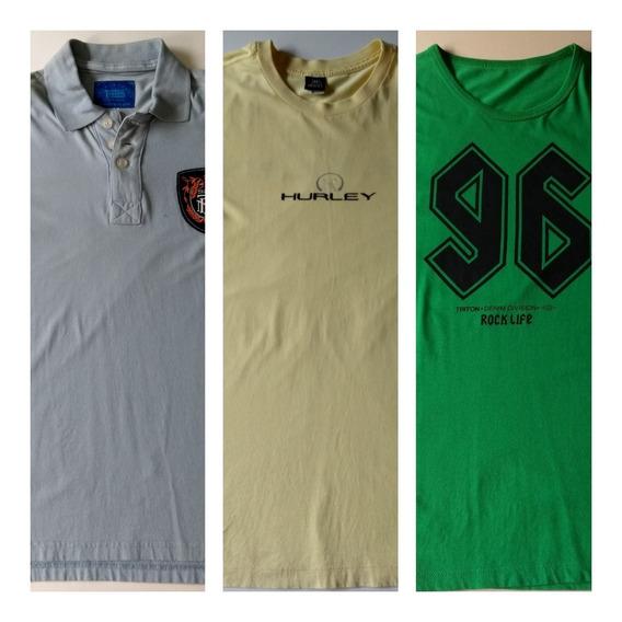 Camisetas Triton E Hurley