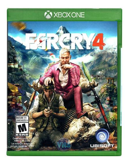 Far Cry 4 - Xbox One - Xone - Novo - Lacrado - Mídia Física