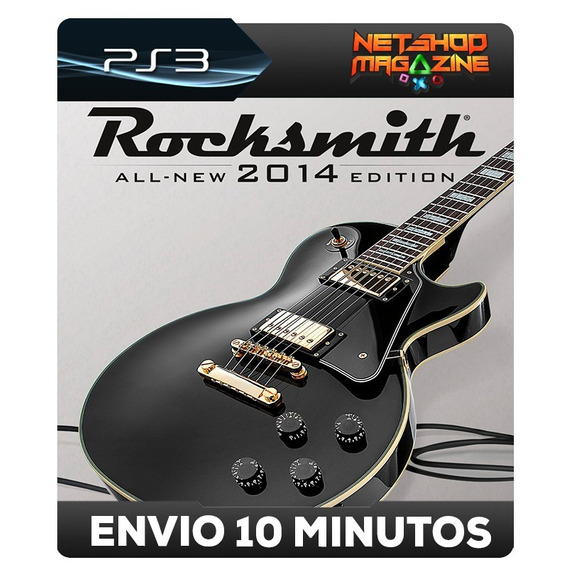 Rocksmith 2014 Edition - Psn Ps3 - Envio Imediato