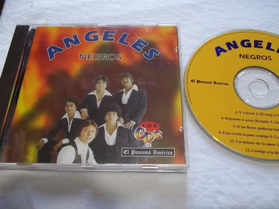 Cd - Angeles - Negros - Musica Latina Rock Pop Inter