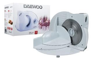 Cortadora De Fiambre Daewoo 150w 3 Vel Corte Hasta 15mm