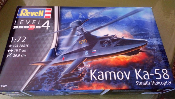 Maqueta A Escala 1/72 Kamov Ka58