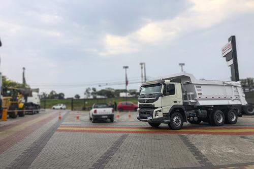 Volvo Fmx 460 2017 Traçado Caçamba Pastre 6x4=3344 4144 3340