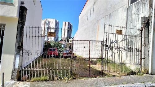Terreno Residencial À Venda, Alto Da Mooca, São Paulo. - Te0137