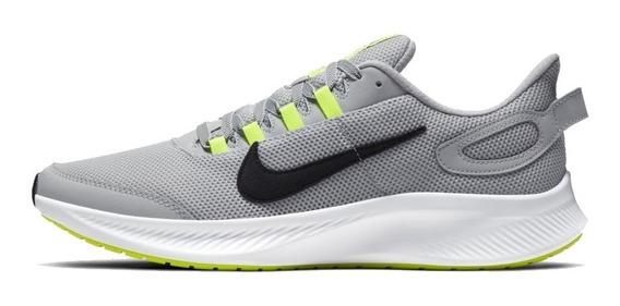 Tênis Nike Runallday 2 Masc. Cinza - Running + Trainning