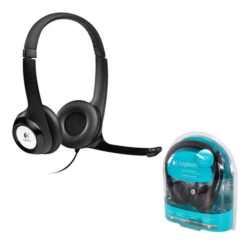 Vincha Logitech H390 Micrófono Juegos Call Center Ubinario